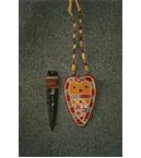 Quilled Heart Neck Sheath