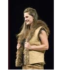 Traditionally Tanned Bison Reversible Vest