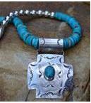 Spanish Cross Necklace by Spirit Hawk