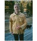 Brain Tanned Buckskin Coat
